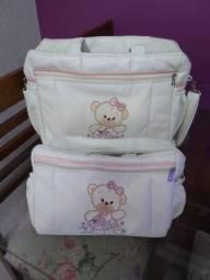 Título do anúncio: Vendo conjunto de bolsa maternidade em ótimo estado
