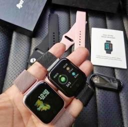 Smartwatch P70 à prova d'água.  Com garantia e nota fiscal
