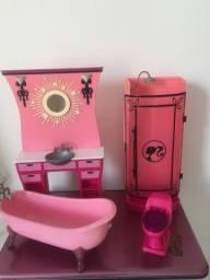 Kit banheiro barbie