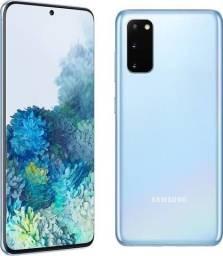 Galaxy S20 128gb Cloud Blue Lacrado + NF (12x Sem Juros)