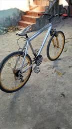 bicicleta caloi quadro alumínio