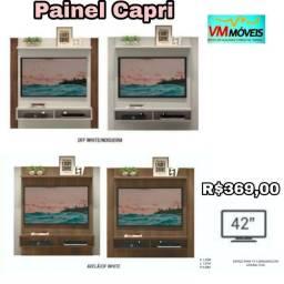 Painel Tv Capri Off whrite Entrega Goiânia e Aparecida