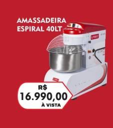 Amassadeira espiral 40kg GPANIZ - JM equipamentos
