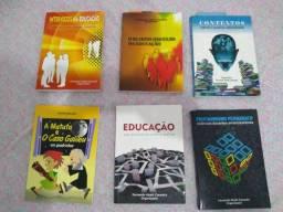 6 livros de Ensino e Educação