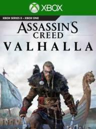 Assasins Creed Vahalla Jogo Xbox One mídia Digital