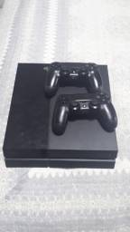 Título do anúncio: PS 4 FAT 500gb com total de 36 jogos e 2 controles