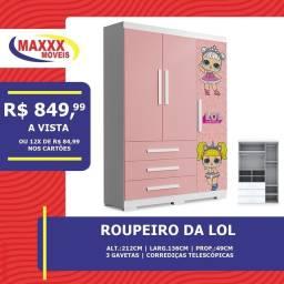 ROUPEIRO/CÔMODA LOL
