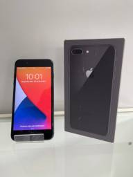 iPhone 8 Plus - 64G - Preto - Impecável