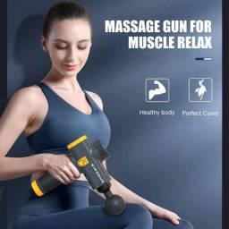 Pistola Massageadora Phoenix A2 Lcd Profissional Carbono - Parcelamos!
