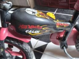 Caloi hot wheels semi nova