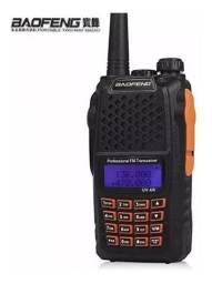 Radio Digital Ht Walk Talk Dual Band Uhf Vhf Fm Baofeng Uv-6r 7w - Loja Natan Abreu