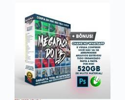 MEGA PACK DO LB + de 520GB de arquivos! PSD e COREL