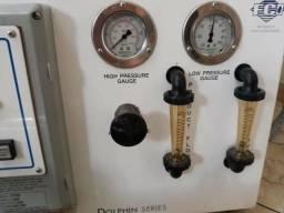 Máquina de dessalinização