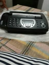 Vendo fax novo na caixa nunca usado sempre guardado
