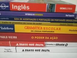 8 Livros por R$60,00. Veja as fotos