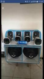 Vende caixa de som paredão