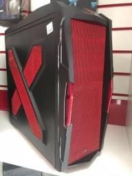 Gabinete 4 Baias Atx Strike-x Xtreme Devil Red Edition comprar usado  Caucaia