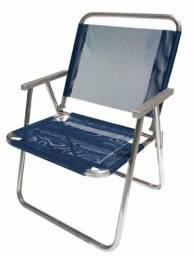 Cadeiras de praia reforçadas em alumínio
