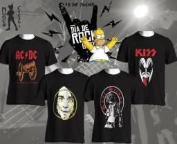 Camisa Bandas de Rock comprar usado  Fortaleza