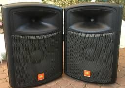 Usado, 2 - caixas ativas JBL modelo JS151A comprar usado  São Paulo
