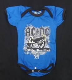 Body para bebês Roupinha AC DC - For those about to rock comprar usado  Sorocaba
