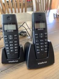 Telefone Sem fio com Identificador de Chamadas e Ramal