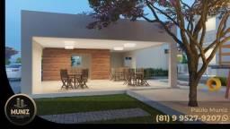 KM Residencial Aurora Jardim no Centro de Paulista, apartamento de 2 quartos com varanda