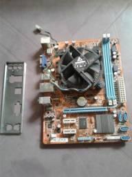 PLACA MAE 1155 + PROCESSADOR i7 3770. de 3.4 ghz