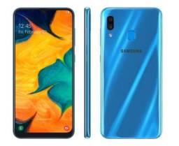 Samsung A 30 pra negócios. vendo ou troco com volta.