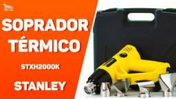 Soprador Térmico Stanley STXH2000K Com Maleta E Acessórios Profissional