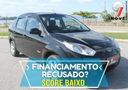 Fiesta Sedan Score Baixo Pequena Entrada - 2013