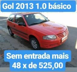 Gol G4 2013 1.0 Basico Sem entrada em 48 de 525,00 - 2013