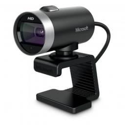 Web Cam Microsoft Lifecam Cinema Hd 360º H5d-00013 Lacrado 3x S/ Juros