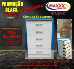 Cômodas Black Friday