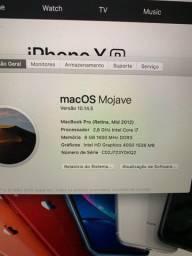 MacBook Pro 2012 perfeito estado