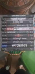 11 jogos originais de PS3