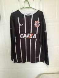 Camisa Corinthians Manga Longa