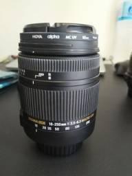 Lente Sigma P/ Nikon 18-250mm F3.5-6.3