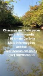 CHÁCARAS NO RIO DO PEIXE EM CRISTIANOPOLIS
