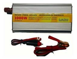 Inversor 12v Para 110v 1000 Watts Original Lucky Amazonia