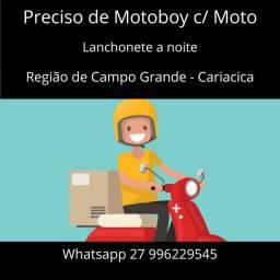 Motoboy Fixo para noite em Cariacica