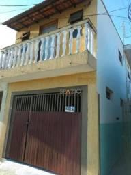 Sobrado com 2 dormitórios para alugar por R$ 850,00/mês - Vila Cristina - Rio Claro/SP