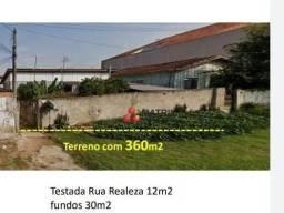 Ótimo Terreno à venda, 360 m² por R$ 420.000 - Sítio Cercado - Curitiba/PR