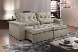 Sofa retratil e reclinavel ouro preto 2,30m MMM627