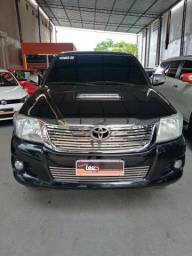 Vendo uma toyota hilux srv diesel top 4x4 manual 112km 2014/2014 - 2014
