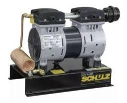 Compressor Ar Direto 1,0 HP Poço Artesiano CSD5/AD Silencioso sem Óleo SCHULZ NOVO