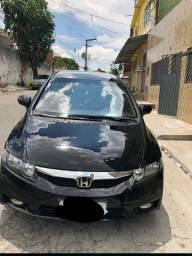 Honda civic 1.8 lxl couro fex aut 4p