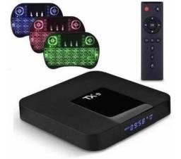 Smart tv box tx9 novos entregamos