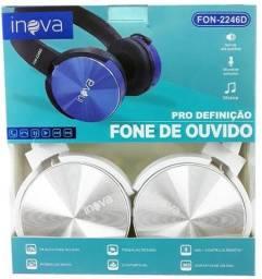 Fone Bluetooth Inova C/ Microfone Headphone