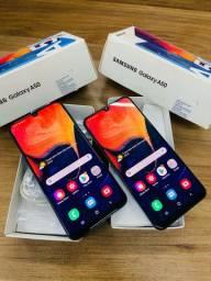 Samsung A50 64 GB - Azul tudo ok